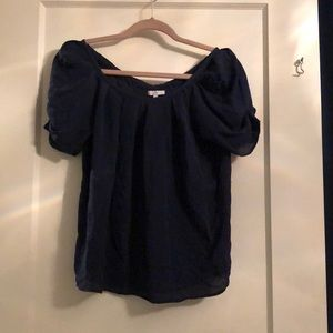 Nice navy blue blouse